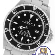 Rolex 2000 Men's Rolex Sea-Dweller 16600 Stainless 40mm Black...