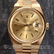 Rolex Day-date Oysterquartz Ref.19018 18 Kt Gold Watch Cal. 5055