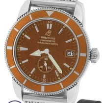 Breitling SuperOcean Heritage 38 Orange Bronze A37320 38mm...