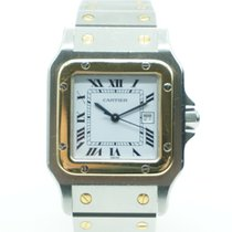 Cartier Santos de Cartier Two Tone Medium