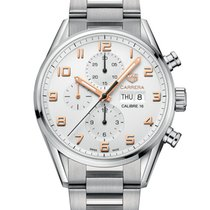 TAG Heuer Carrera Calibre 16 Steel 43mm Silver