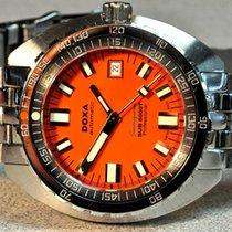 Doxa Chronometer 45mm Automatic 2014 pre-owned Sub Orange