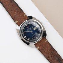 Omega Genève Steel 38mm Blue