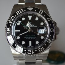 Rolex GMT-Master II 116710LN - New - 100% Stickers R. Card...