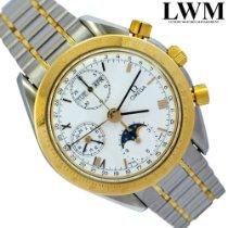 Omega Speedmaster Professional Moonwatch Moonphase usados escluso corona 39mm Acero y oro