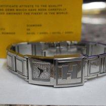 Fendi Auth FENDI Secret 5400L Silver Womens Wrist Watch...