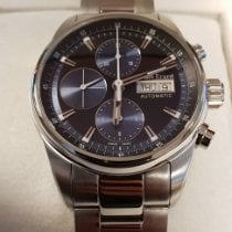 Louis Erard Steel 42mm Automatic Louis Erard Heritage Chronograph 78104AA12 pre-owned