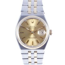 Rolex Datejust Oysterquartz Goud/Staal 36mm Champagne