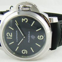 Panerai Luminor Base Logo Steel 44mm Black Arabic numerals United States of America, Illinois, Lincolnshire