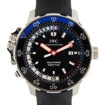 IWC Aquatimer Deep Two Сталь 46mm Чёрный