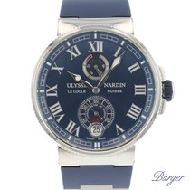 Ulysse Nardin Marine Chronometer Manufacture Steel 43mm Blue