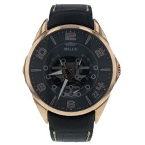 Milus Rose gold 45mm Automatic TIRI402 new