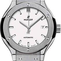 Hublot Classic Fusion 45, 42, 38, 33 mm neu 2021 Automatik Uhr mit Original-Box und Original-Papieren 582.NX.2610.RX
