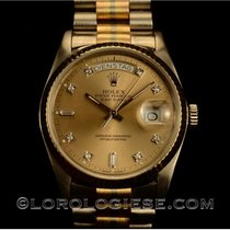 Rolex White gold Automatic 18039 pre-owned