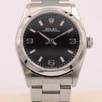 Rolex Oyster Perpetual 31 Acél 31mm Fekete Arab