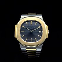 Patek Philippe 3700 Gold/Steel 1983 Nautilus pre-owned