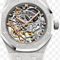 Audemars Piguet Royal Oak Double Balance Wheel Openworked 15466BC.GG.1259BC.01 новые