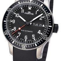 Fortis B-42 Official Cosmonauts Titanio 42mm Negro