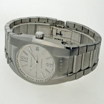 Bulgari Ergon Steel 35mm White Arabic numerals