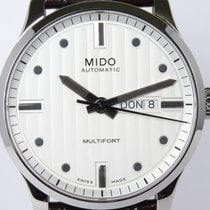 Mido gebraucht Automatik 42mm Silber Saphirglas 10 ATM