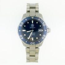 TAG Heuer Aquaracer 300M Steel 41mm Blue No numerals United States of America, New York, New York
