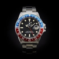 Rolex GMT-Master new 1972 Automatic Watch with original box and original papers 1675