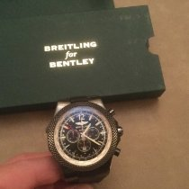 Breitling Bentley GMT Stahl 49mm Schwarz Arabisch Deutschland, München