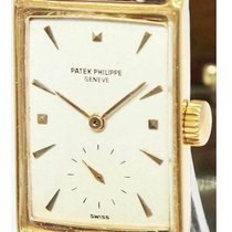 Patek Philippe Oro rosado Cuerda manual Blanco 22mm usados Vintage