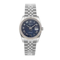 Rolex Datejust Steel 36mm Blue Roman numerals United States of America, Pennsylvania, Bala Cynwyd