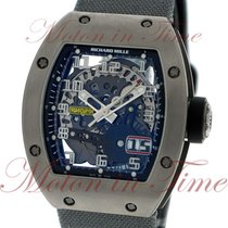 Richard Mille RM 029 pre-owned 48mm Transparent Date Textile