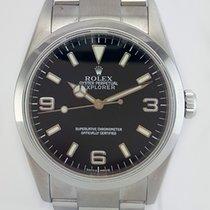 Rolex Explorer I 36mm Stainless Steel Black Dial REF: 14270