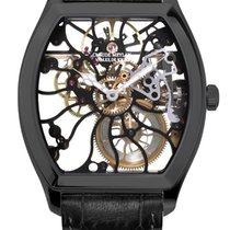 Claude Meylan 6047 tortue de joux black new