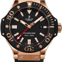 Hublot Rose gold Automatic Black 56.3mm new Big Bang King