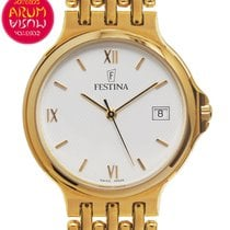 Festina 34mm Quartz 2006 pre-owned White