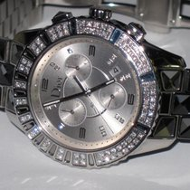 Dior Christal Steel 38mm Silver No numerals United States of America, New York, Greenvale