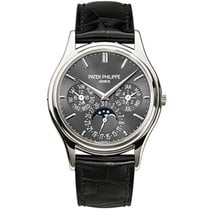 Patek Philippe Perpetual Calendar Platinum 37.2mm Grey No numerals United States of America, New York, New York