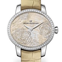 Girard Perregaux Cat's Eye 80476D11A801-CK8A Girard Perregaux Bloom Alligatore Oro new