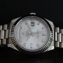 Rolex Day-Date II gebraucht 41mm Weißgold