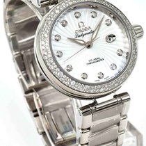 Omega De Ville Ladymatic Co-Axial Diamond Bezel & Markers...