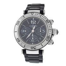 Cartier Men's  Pasha Seatimer 2995 Chronograph 42MM Automatic