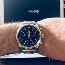 Breitling Transocean Chronograph Mens 43mm Watch UB015212/Q594