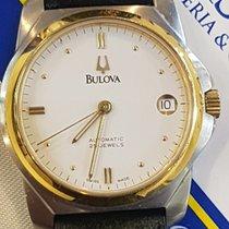 Bulova Bulova eta 2824-2 Automtico con data 25 jewels Dial White 1980 używany