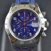 Tudor Prince Date Steel 40mm Blue