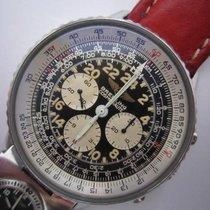 百年靈 Navitimer Cosmonaute 鋼 41mm 黑色 阿拉伯數字