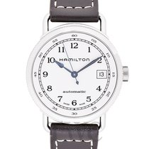 Hamilton H78215553 Steel Khaki Navy 36mm new