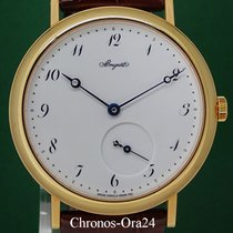Breguet Classique 5140 Automatic 40mm 2014 Gold Porcelain Dial...