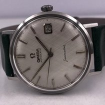 Omega vintage 1962 SEAMASTER automatic date linen dial ref...