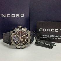 Concord 47MM CONCORD C1 CHRONOGRAPH TITANIUM-CERAMIC 0320223