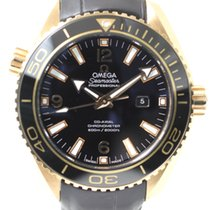 Omega Red gold Automatic Black Arabic numerals 37.5mm new Seamaster Planet Ocean