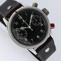 Tutima UROFA 59 Wehrmachtschronograph WWII Pilot Military